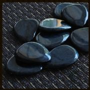 Rock Tones - Dumortierite - 4 Guitar Picks | Timber Tones